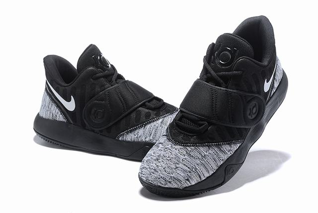 Nike KD Trey 5 VI Weave Shoes Grey Black